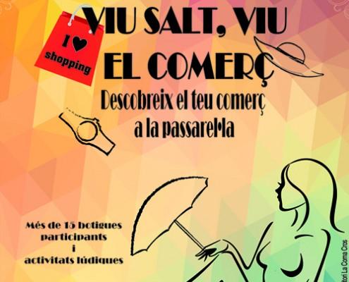 Comerç de Salt pasarel·la