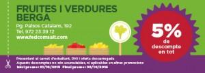 fruites y verdures berga