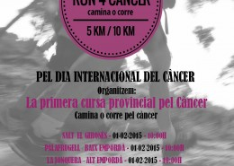 1ra Cursa RUN 4 CANCER a Salt