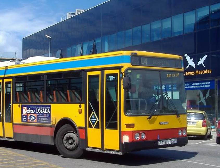 autobus L4 Salt Girona